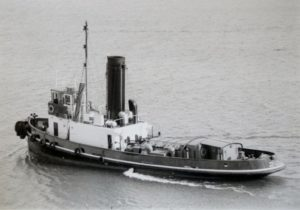 Yelta after deck changes. Note changes to the wheelhouse and the addition of a deck house aft. (Post 1967).